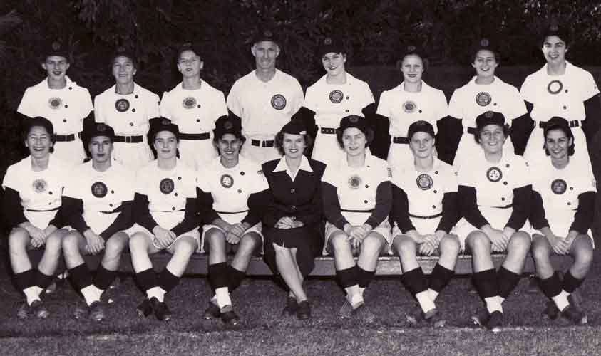 1952 Rockford Peaches