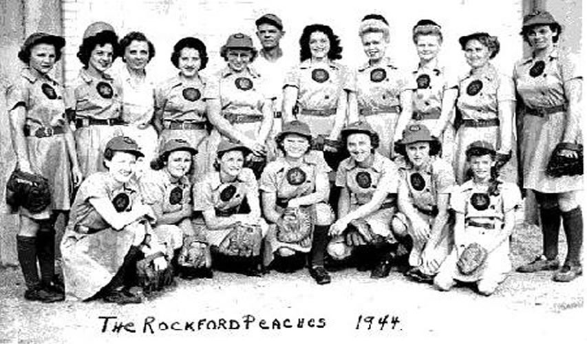 1944 Rockford Peaches
