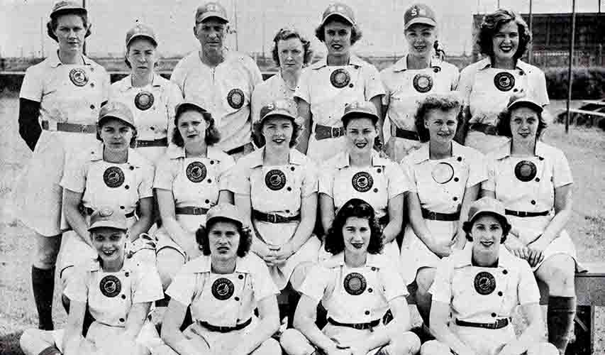 1945 South Bend Blue Sox