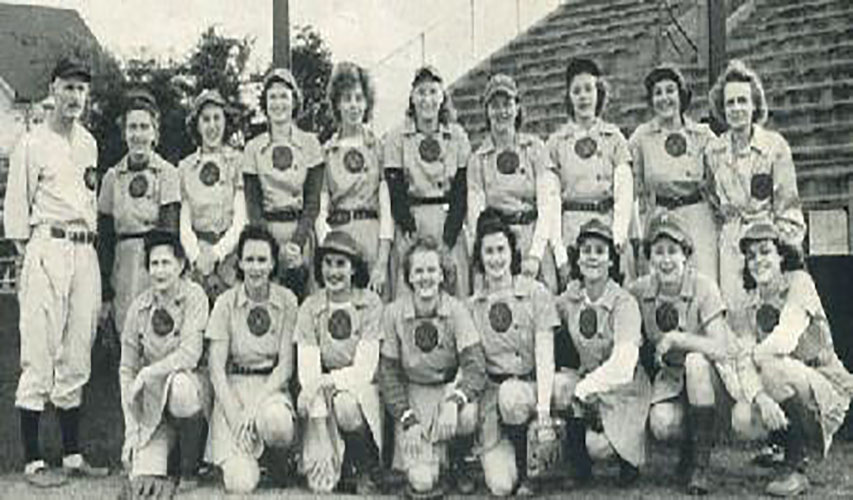 1946 Rockford Peaches