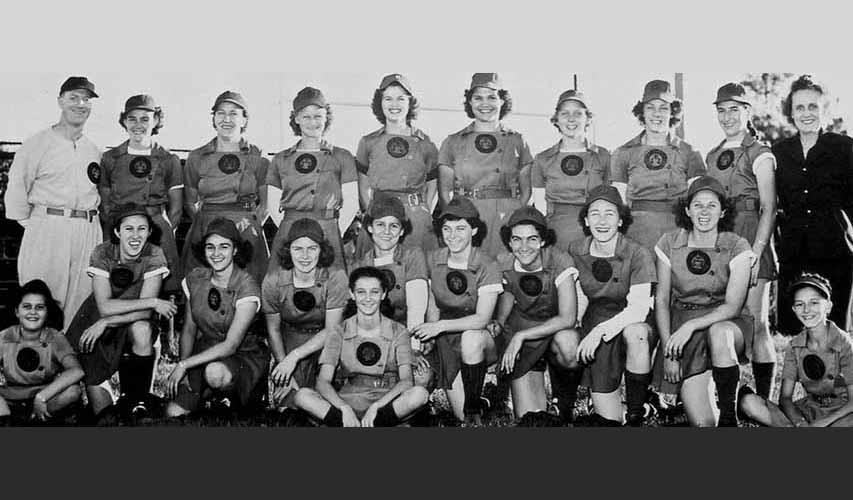 1947 Rockford Peaches