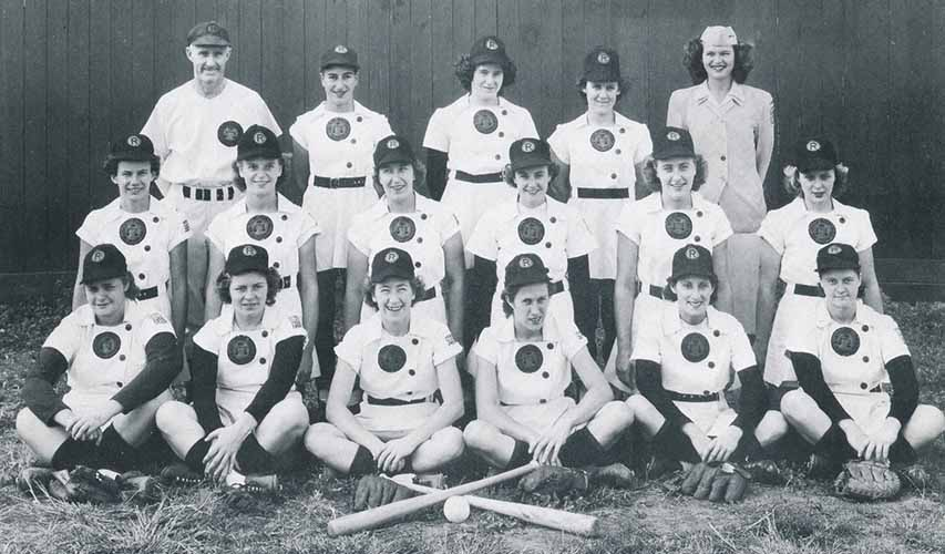 1948 Rockford Peaches