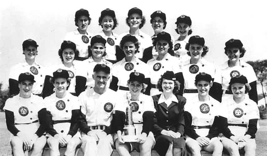 1949 Rockford Peaches