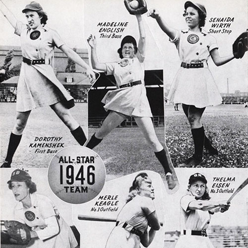 aagpbl article aagpbl history 1946 all star team