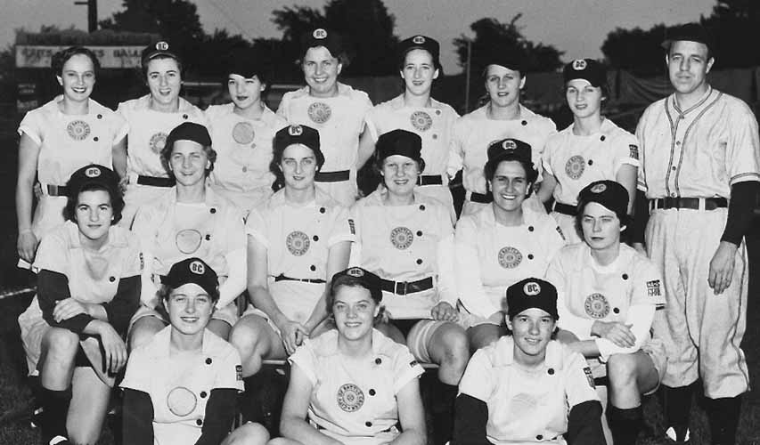 1952 Battle Creek Belles